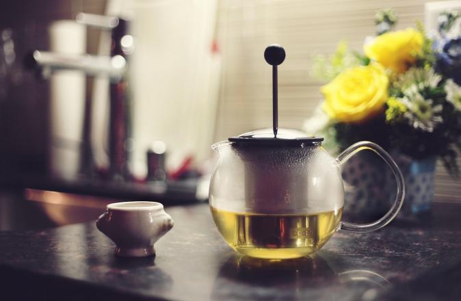 Natural hair remedies: green tea for hair loss