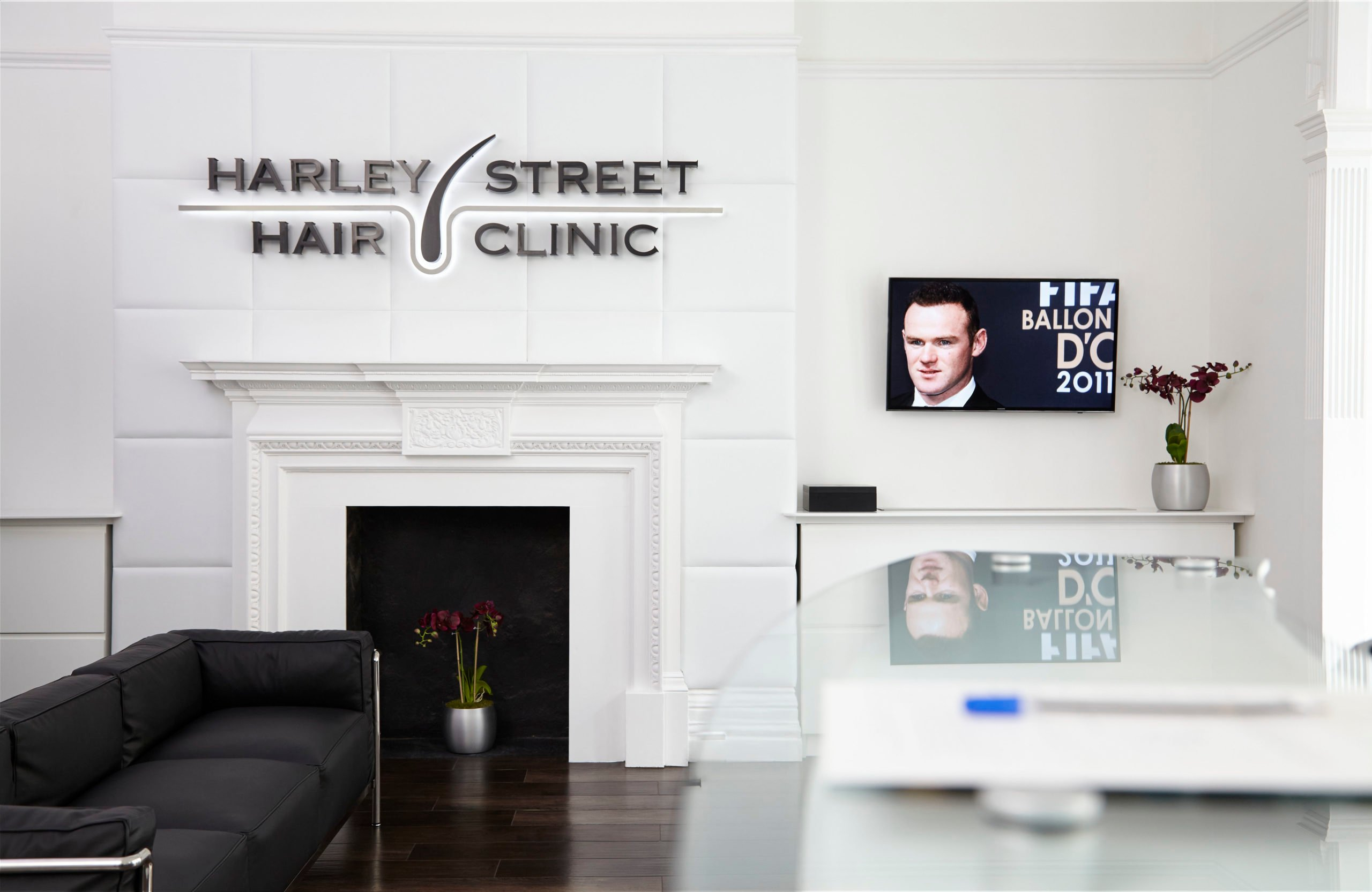 Harley Street Hair Clinic Reception