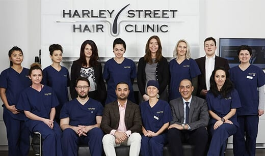 Harley street hair clinic London