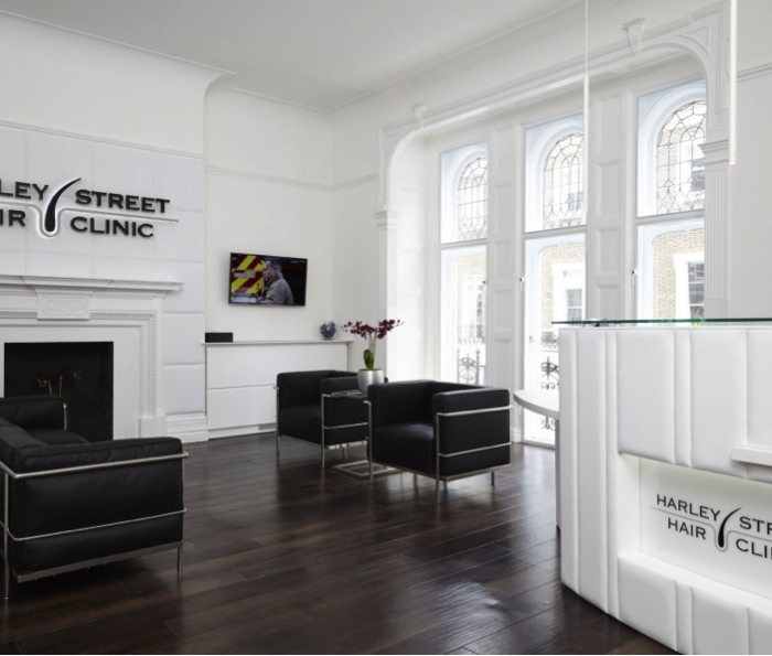 Last year at the Harley Street Hair Clinic
