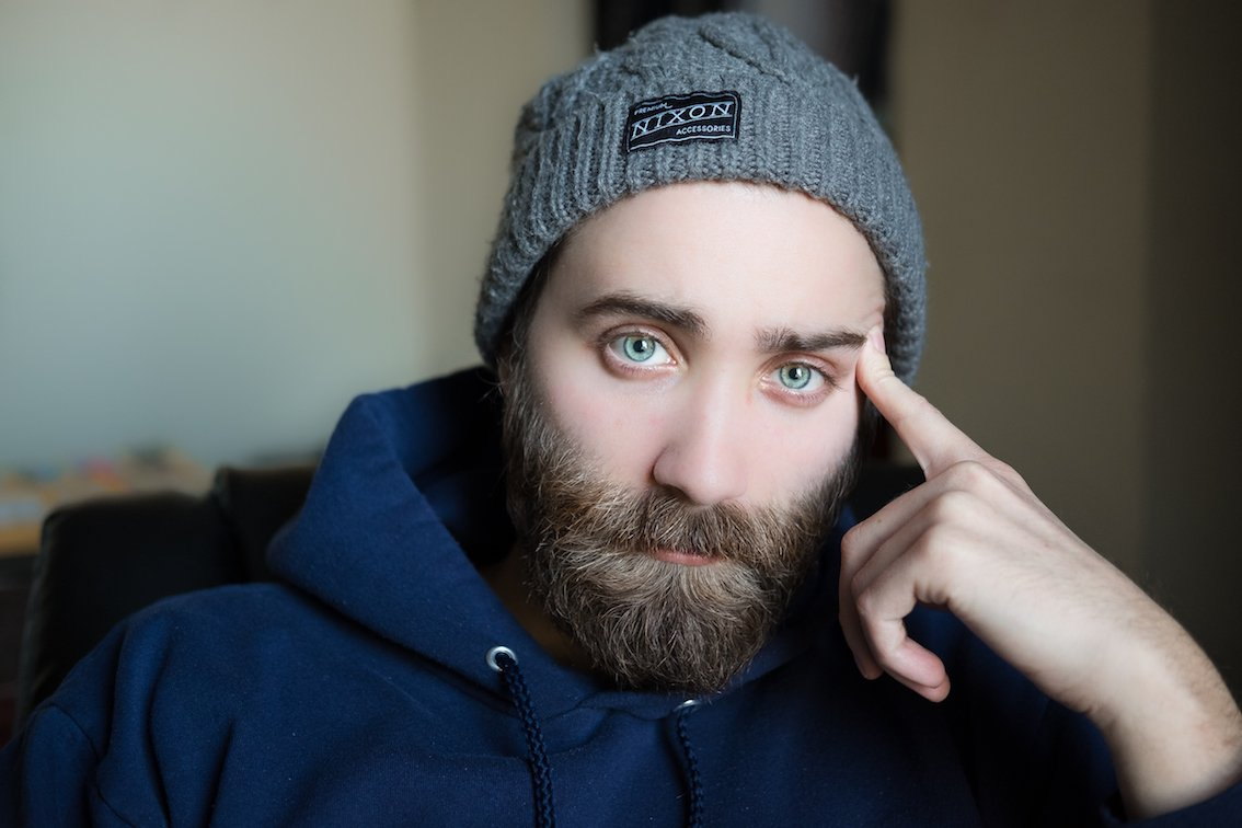 The beard transplant trend continues to rise