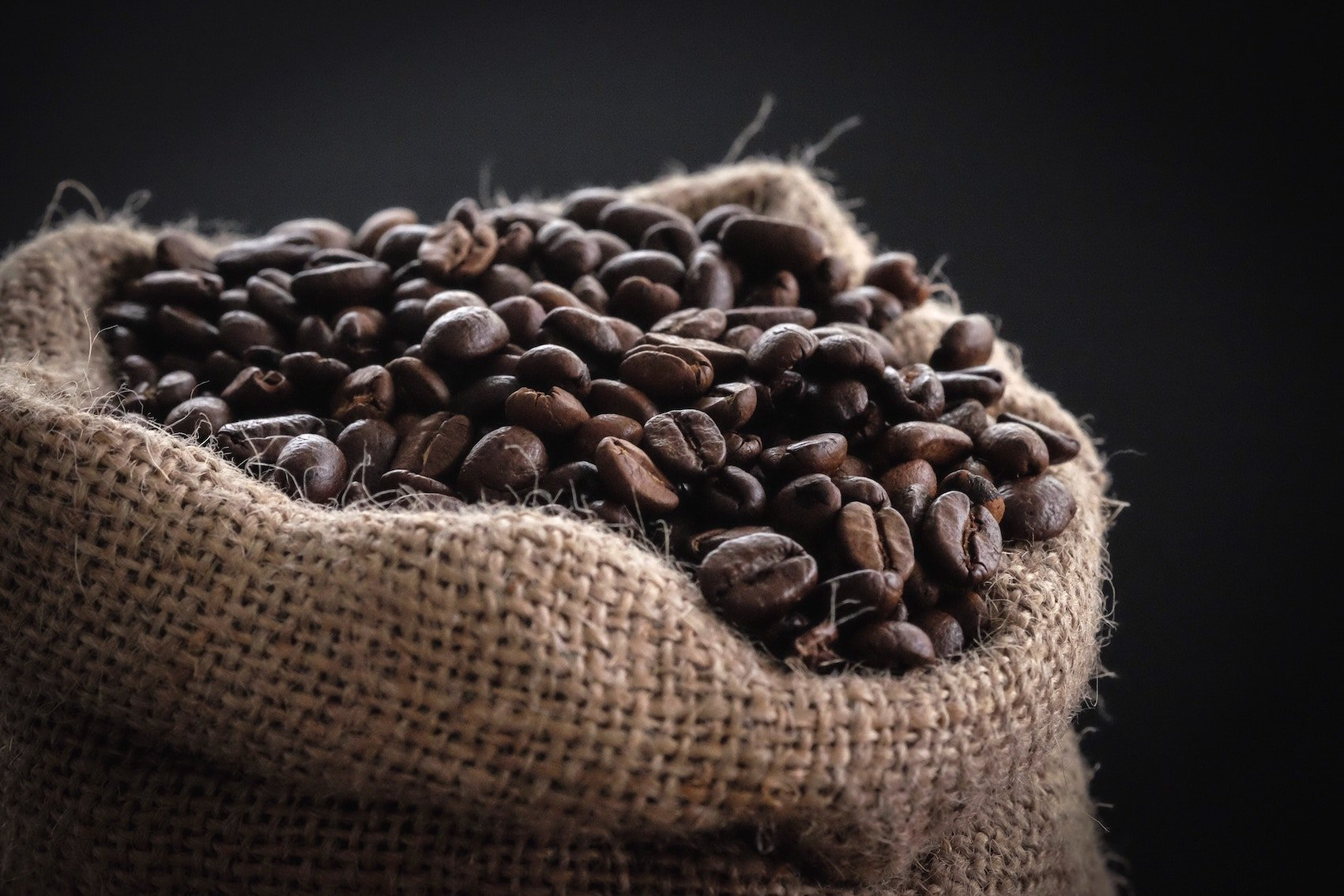 Coffee Beans In Sack